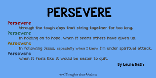 Image result for persevere