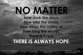 Image result for there is hope