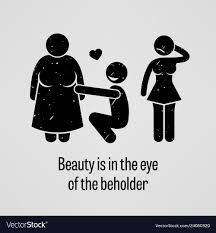 Image result for beauty in the eye of the beholder